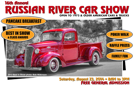russian river car show